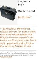 ✰ Benjamin Stein - Die Leinwand